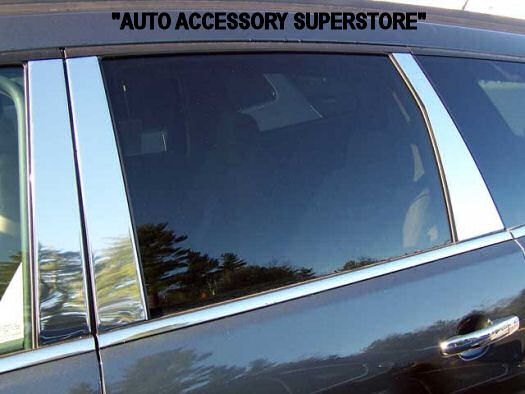 Auto Accessory Superstore 09 14 Chevy Traverse Chrome Pillar Posts 6 Pc Chevrolet Traverse Pillar And Post Jeep Wrangler Accessories