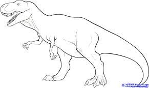 T Rex Template Google Search Pintar Dinossauros Paginas Para