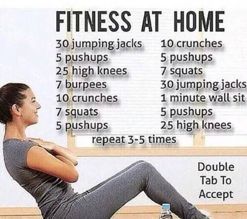 Fitness at home..