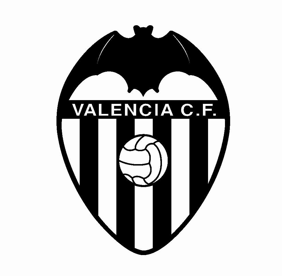 Valencia C F C Simbolo De Paz Escudo Valencia