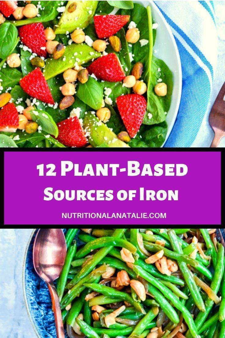 12 Plant Based Sources of Iron Vegan recipes easy, Vegan