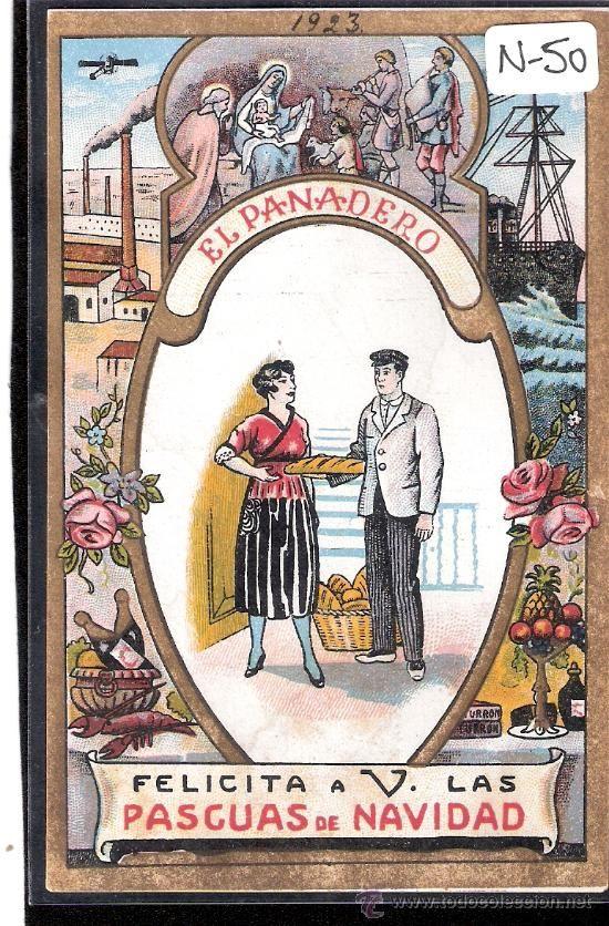 Resultado de imagen de tarjetas de los oficios de navidad