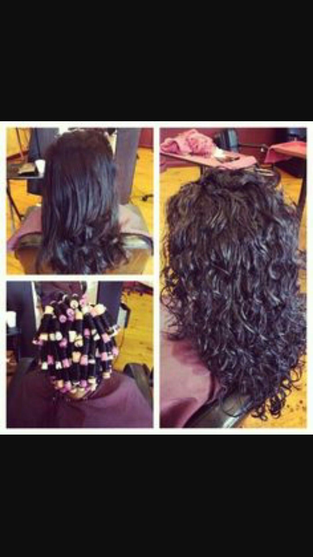 Straight perm yahoo answers - Loose Curl Perm Now If Mine Would Just Come Out Like This In Perms I D Be Ecstatic