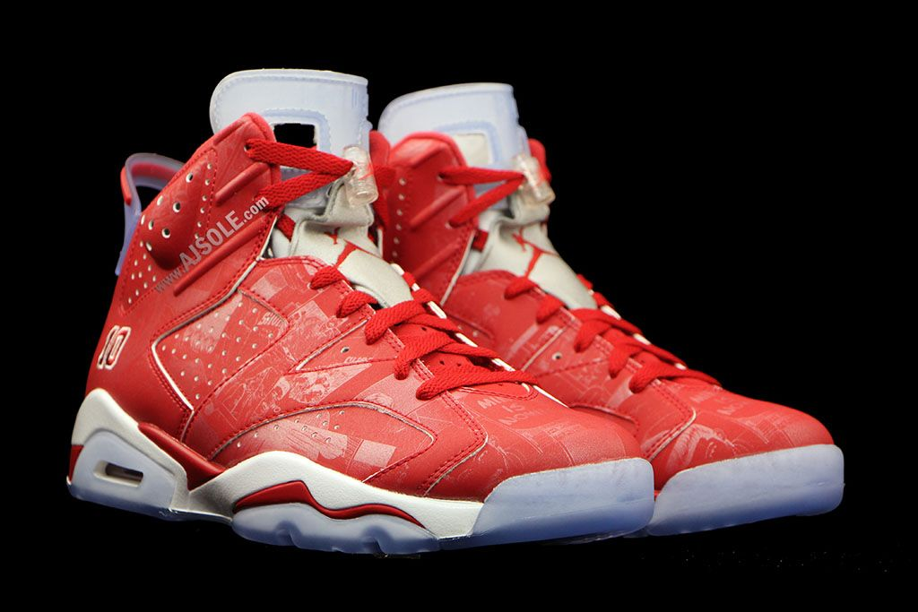 Smash X Air Jordan 6 Shohoku 10 Adolescents
