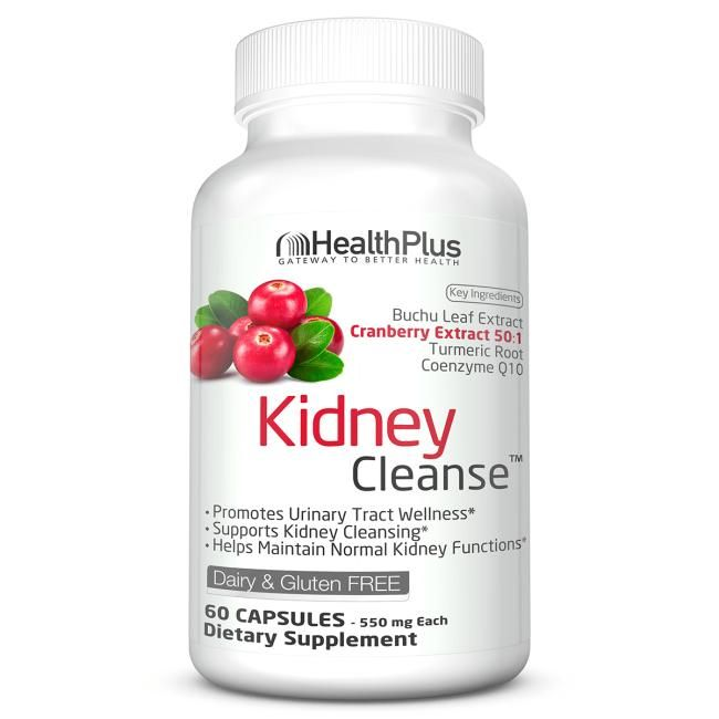 Health Plus Kidney Cleanse | 60 Caps | Cleansing and Detoxification