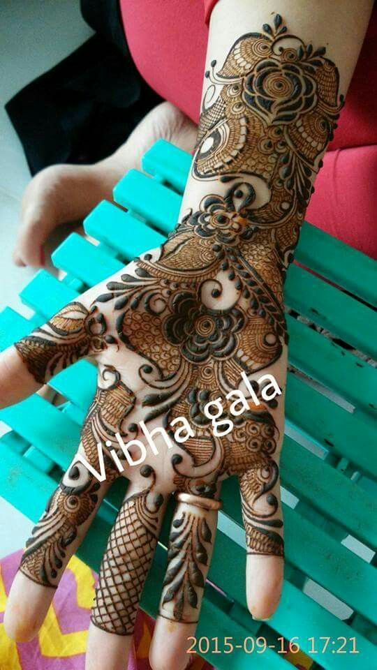 13 Unique Henna Designs Doing The Rounds This Wessing: 4ac1a81f9c192a3bbc1a6bdbd3dbd349.jpg (540×960)