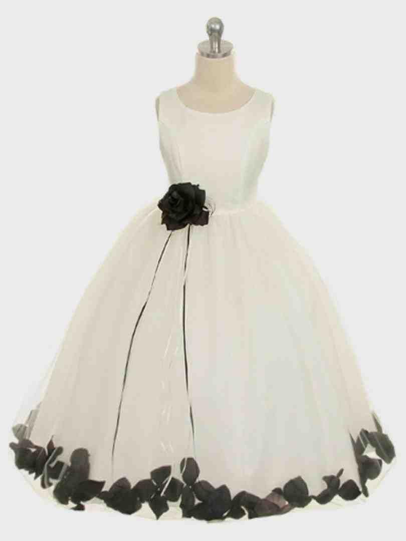 ass-black-and-white-flower-girl-dress