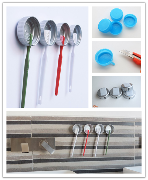 How To Make Simple Diy Toothbrush Holder Diy Tag Diy Toothbrush Holder Diy Crafts Magazine Easy Diy