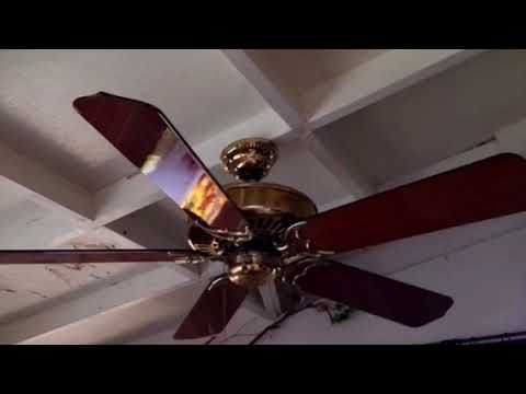 "Ceiling Fan Pull Chain Broke Glamorous 52"" Sierra Turbo I Ceiling Fan With A Broken Blade And Broken Pull Inspiration"