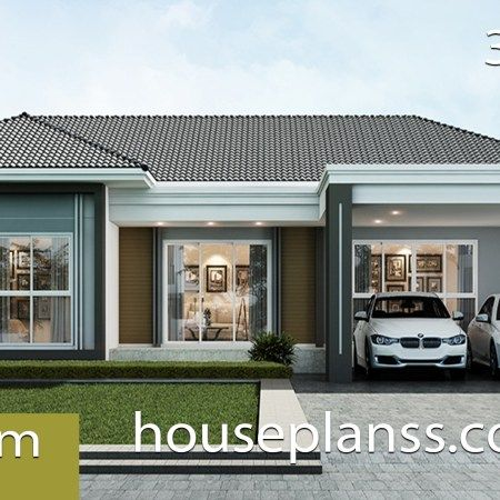 House Design Plan 9x11 5m With 4 Bedrooms Small House Design Plans Small House Design Home Design Plans
