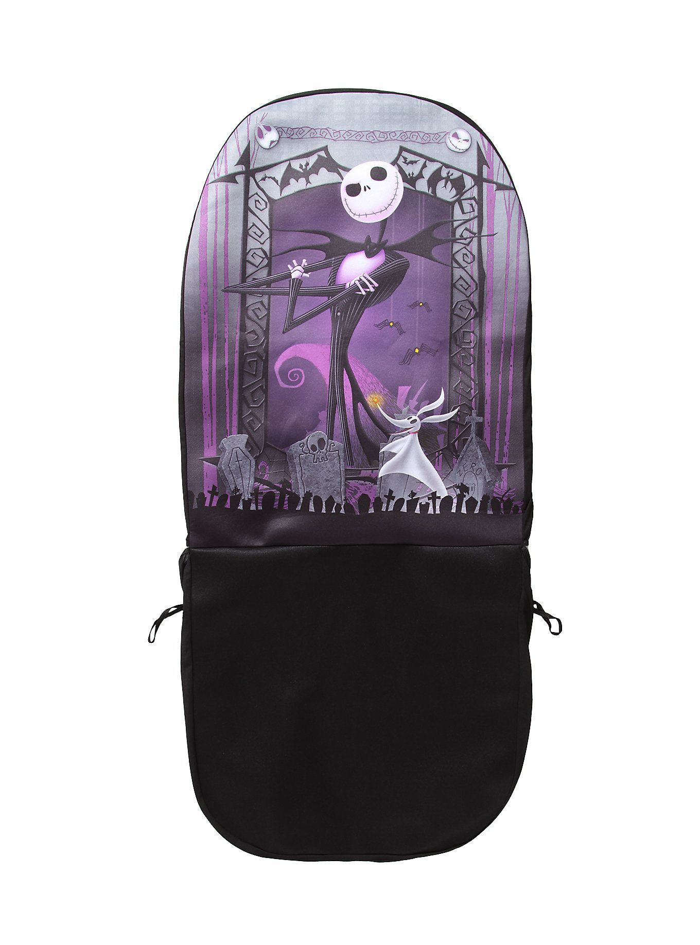 The Nightmare Before Christmas Jack Skellington & Zero Car Seat ...