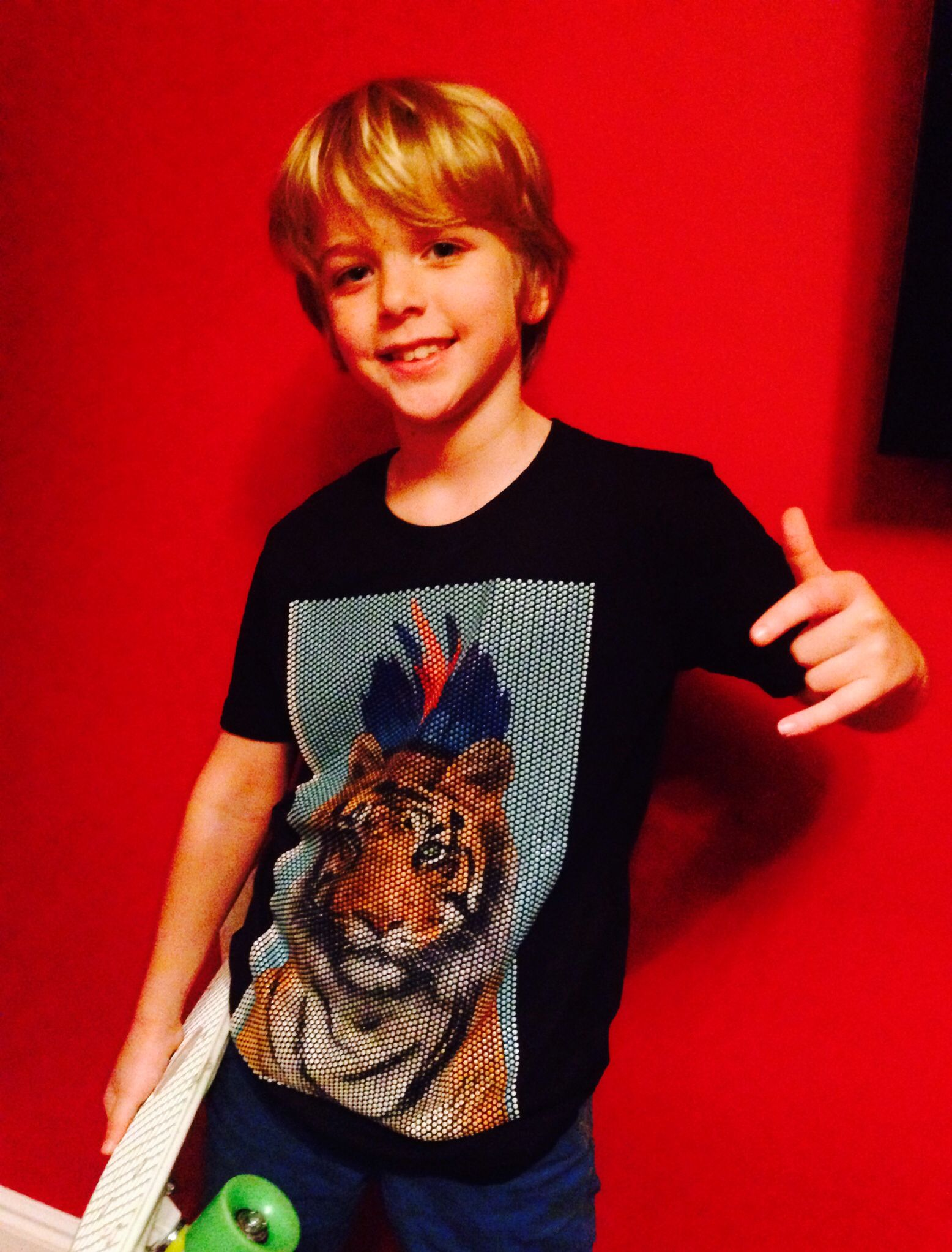 #newprint #alert #cakokids new #tiger #headdress #print #fashion #available #now #fun #boys #style