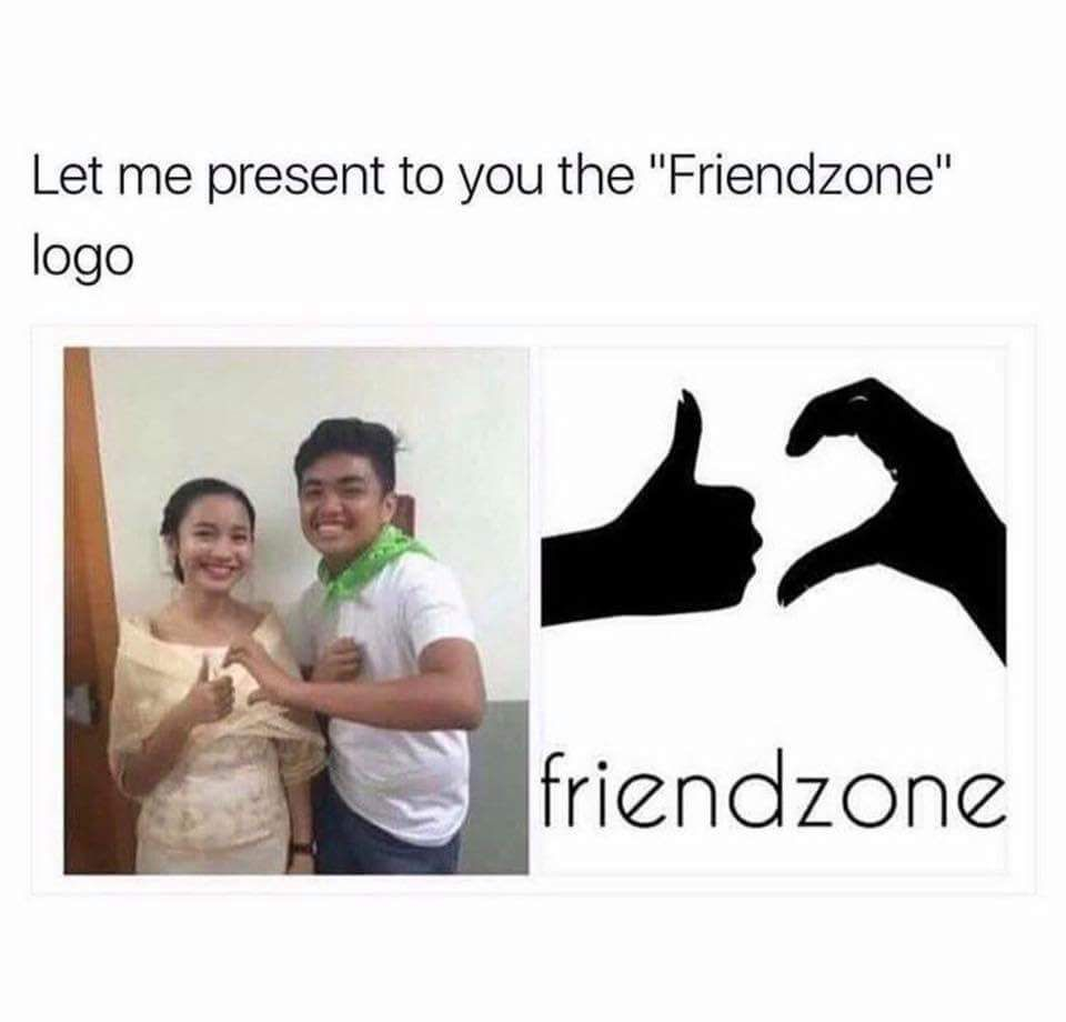The Friend Zone Logo Really Funny Memes Funny Relatable Memes Funny Jokes
