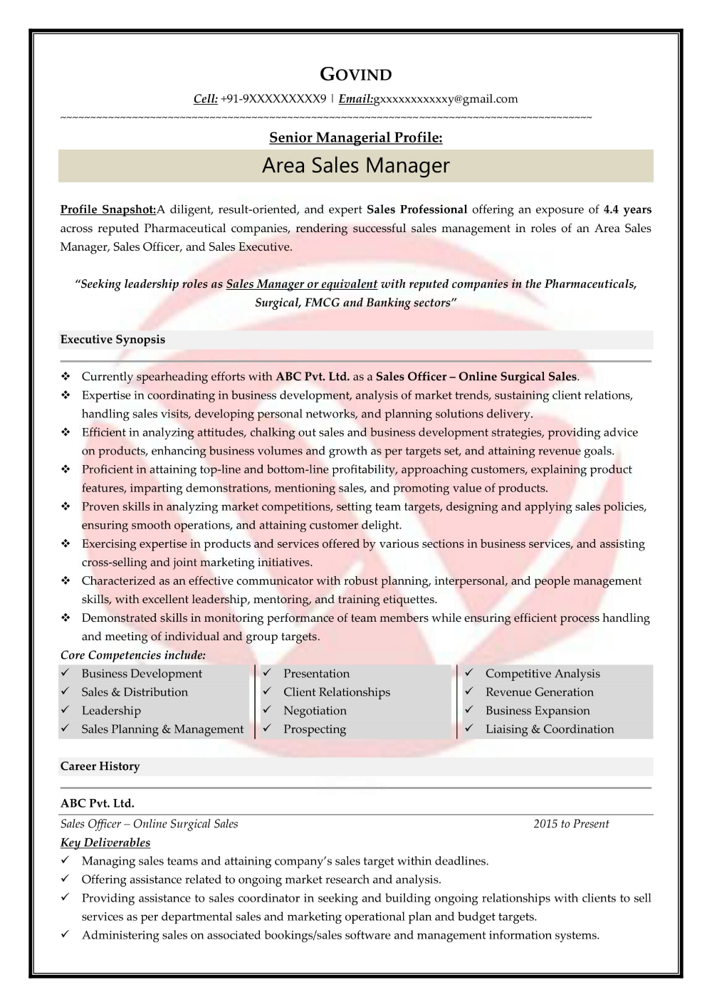 Sales Sample Resumes, Download Resume (With images