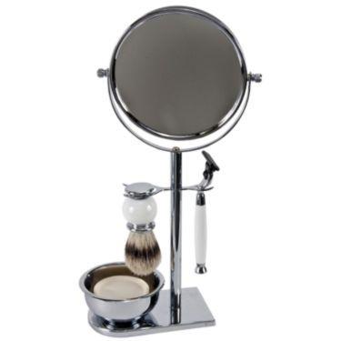 Harry D. Koenig 5 pc Chrome/Mirror Shave Set - JCPenney