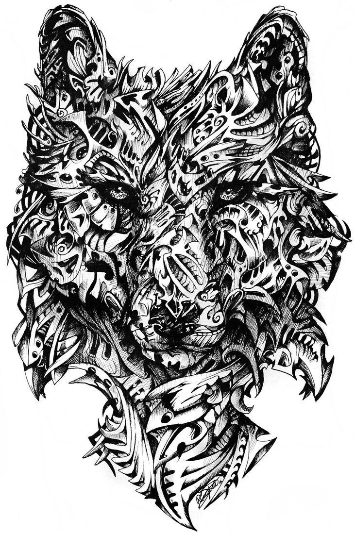 Art in detailed animal doodle drawings animal doodles