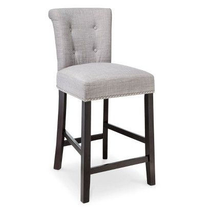 Threshold Scrollback With Nailhead 24 Counter Stool Counter