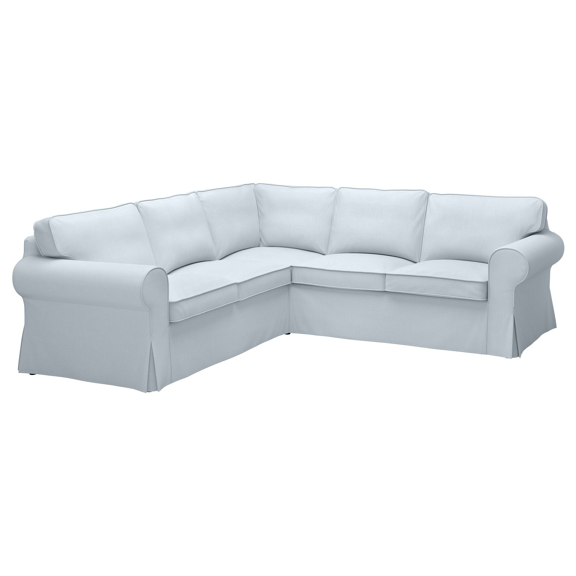 Ikea Ektorp Sofa Couch Cover Lofallet Beige