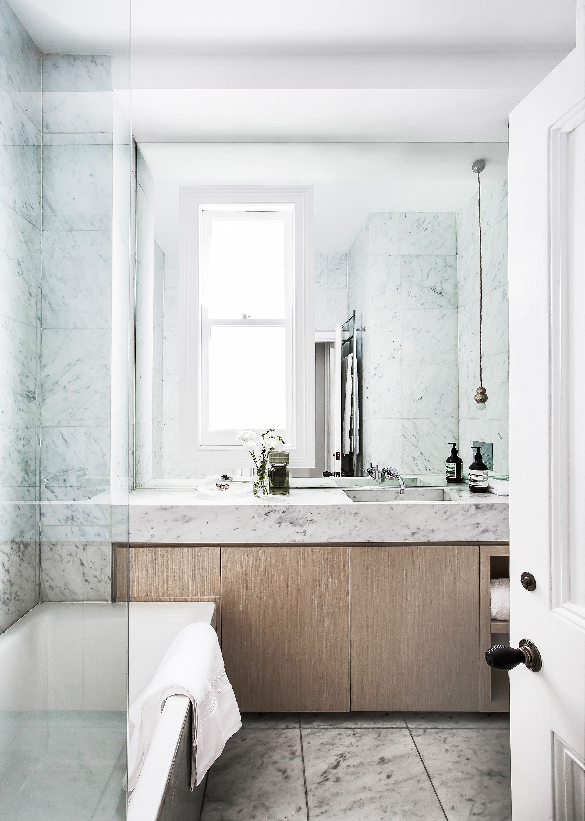 Bathroom From Victorian Terrace Renovation In Sydney S Inner East By Interior Designer Tonka Andjelkovic Photography