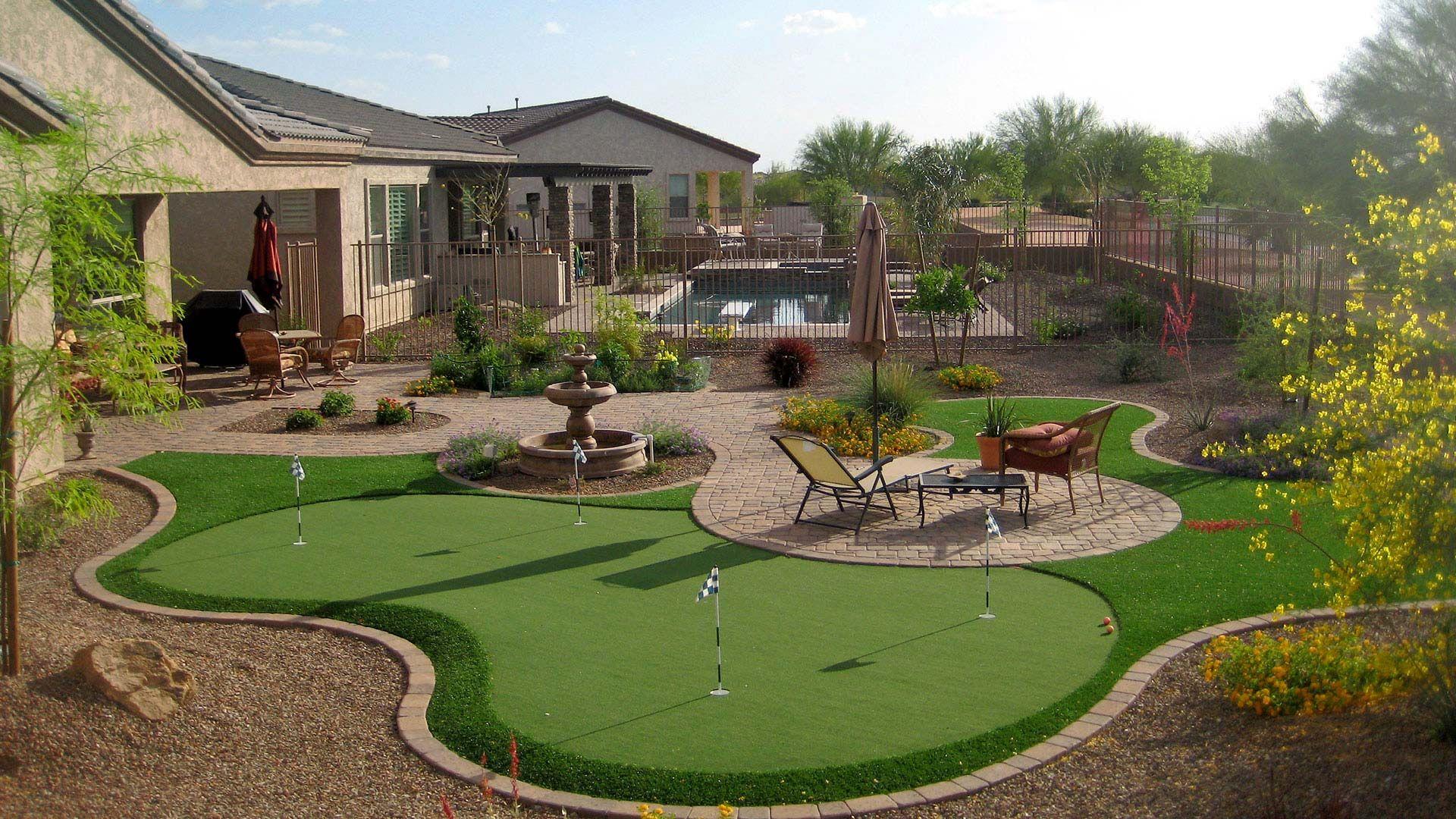 Image result for desert landscaping | Arizona backyard ... on Desert Landscape Ideas For Backyards id=50670