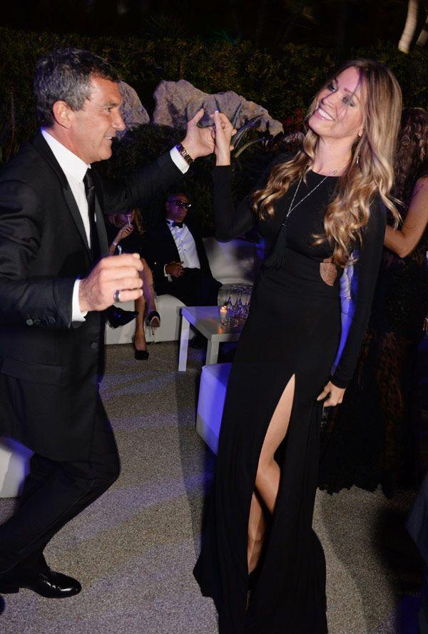 Antonio Banderas y Nicole Kimpel: todo comenzó en Cannes