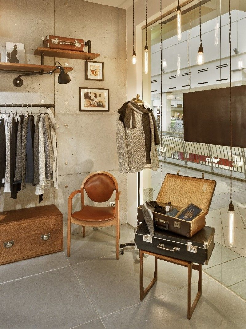 Vintage Industrial Charm Defines New Fashion Clothing Store in Moscow -  Freshome.com