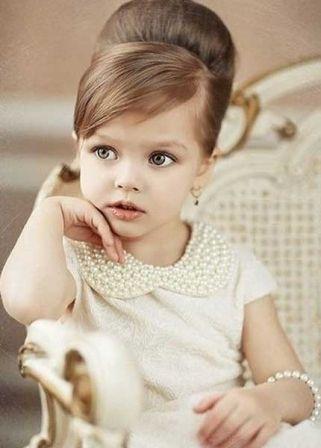 Modele coupe de cheveux pour petite fille