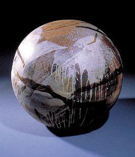 Toshiko Takaezu Ceramics Moon Ball Moon Pottery And