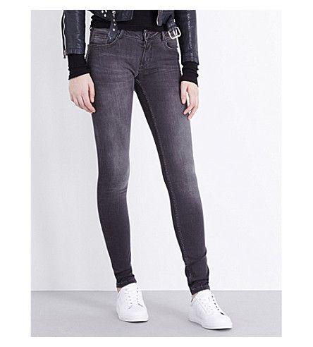 MAJE Jaw Skinny High Rise Jeans. #maje #cloth #jeans & denim