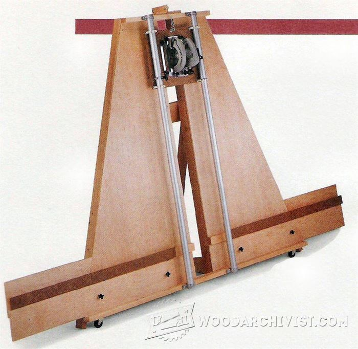 Panel saw plans circular saw tips jigs and fixtures for Diy carpentry plans