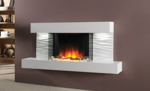 Contemporary Electric Wall Fireplace Ador Wall Mounted