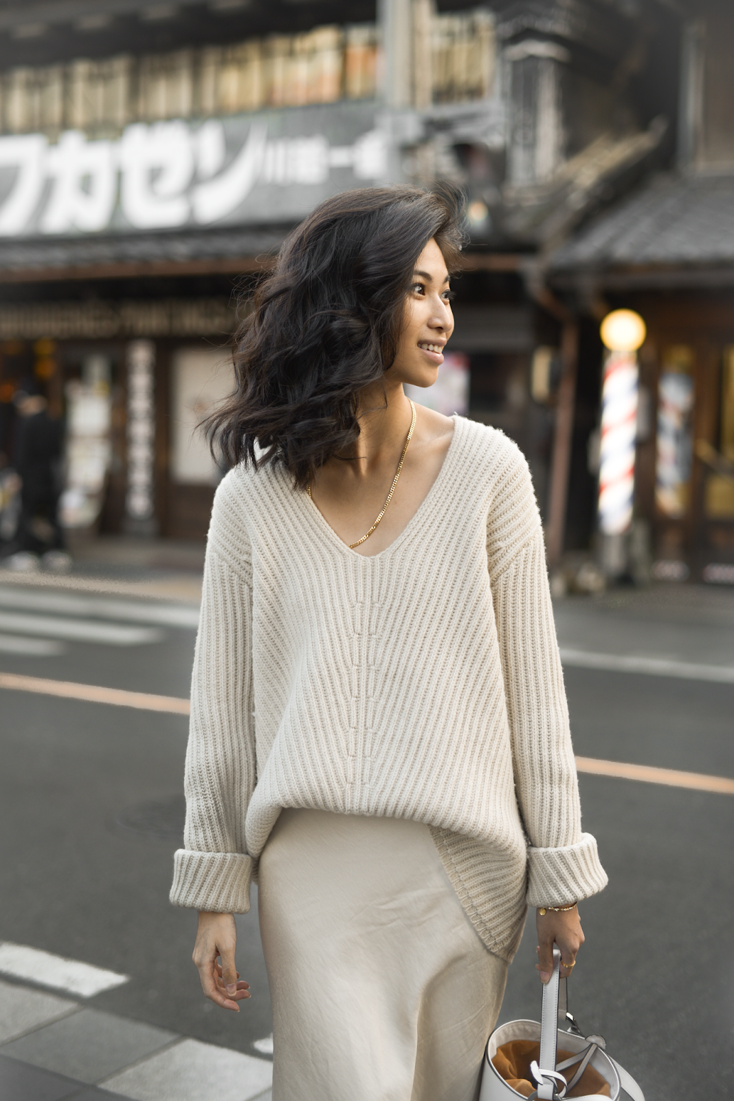 Much Needed Distractions / 102018 | Knit skirt outfit