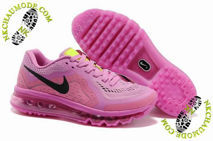 new concept 03a30 fb760 chaussures air max nike 2014 Femme Rose