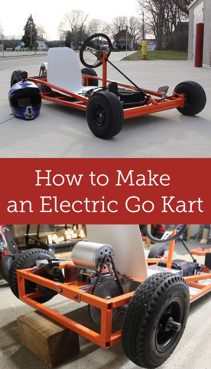 How to Make an Electric Go Kart | Car stuff, Cars and Jeep mods