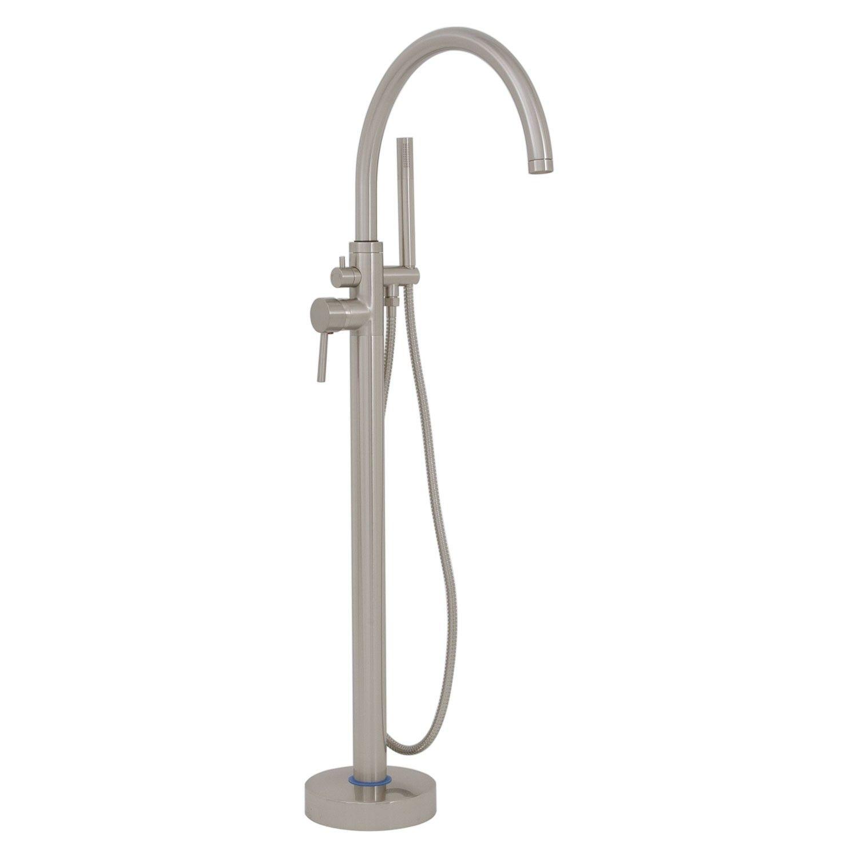 Glynne Gooseneck Freestanding Tub Faucet Tub Faucets Bathroom