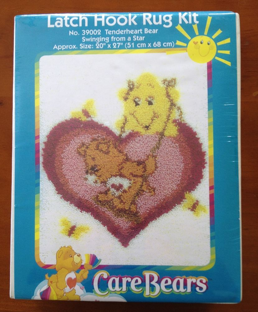 Latch Hook Rug Kit Wonderart Care