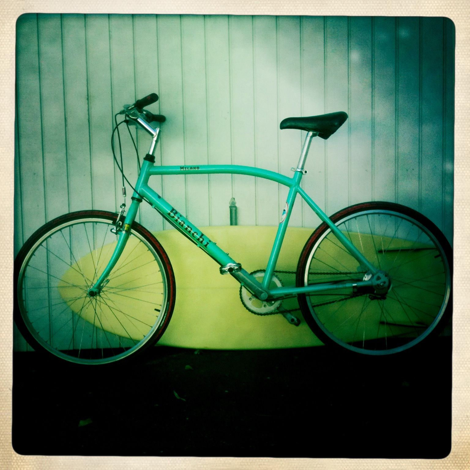 Bianchi Milano - Nothing better to bike around Seattle