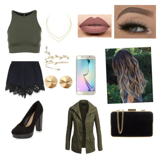 """""""Untitled #29"""" by jossemely on Polyvore featuring Chloé, LASplash, Onzie, Samsung, New Look, Lana, Eddie Borgo and MICHAEL Michael Kors"""