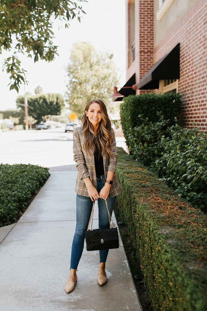 Four Must Have Fall Jackets #churchoutfitfall