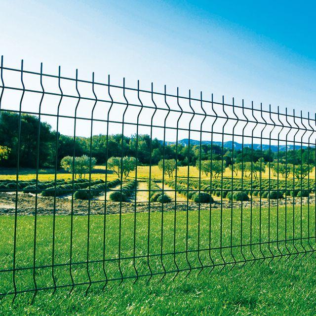 Panneau Grillage Akela Classic Vert Maille 200 X 55 Mm Cloture Jardin Jardins Cloture Jardin Pas Cher