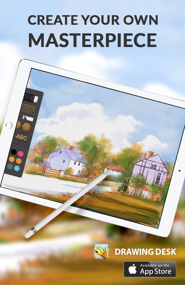 Drawing Desk Is A Creative Artistic App Designed To Encourage Kids Adults Draw Color Paint Sketch Photo Edit Drawing Desk Sketch Photo Editing Drawings