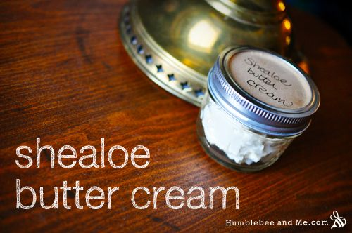 Homemade Shealoe Butter Cream | Body Butter, Salve, & Lotion