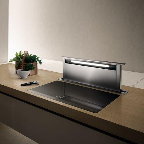 hotte pour ilot r tractable adagio cuisine pinterest hotte cuisine hotte et amenagement. Black Bedroom Furniture Sets. Home Design Ideas