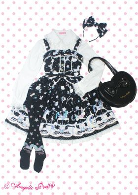 angelic pretty Candy Sprinkle ジャンパースカート Set