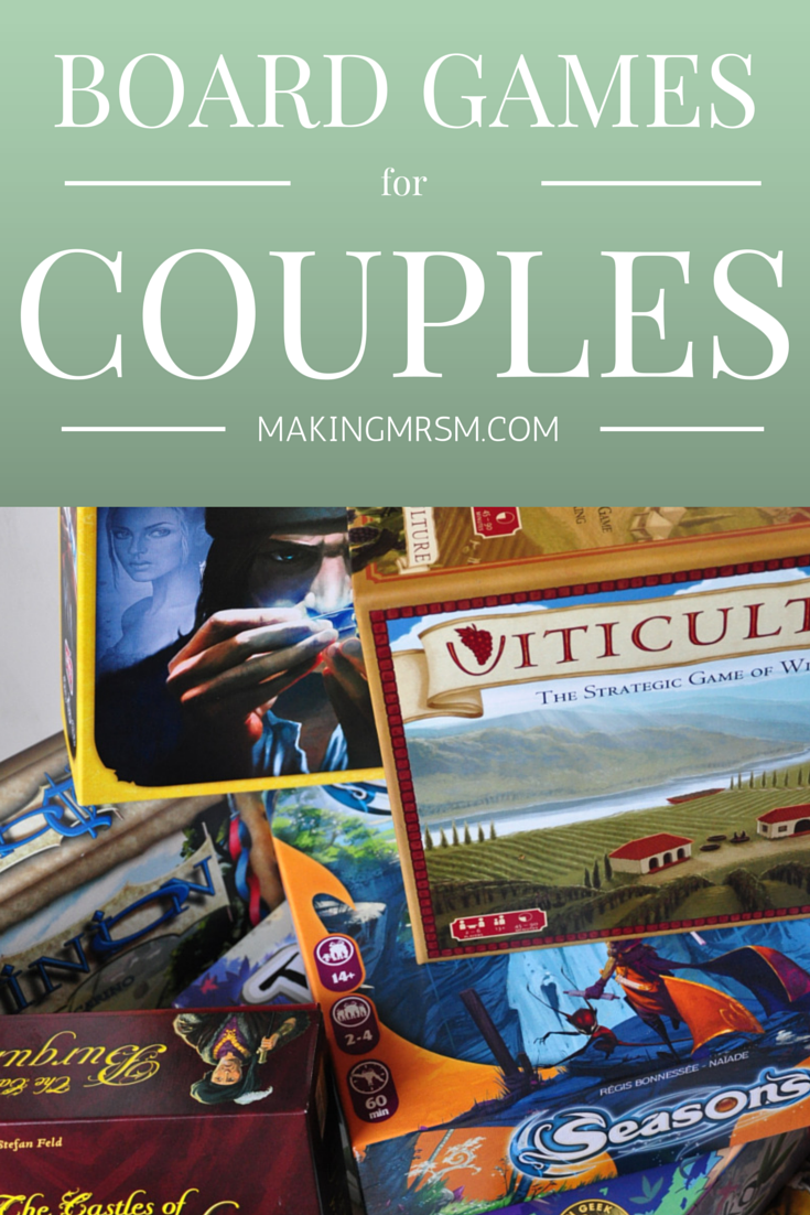 Board game for couples