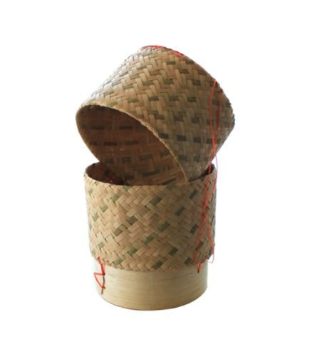 Bambus Dampfkorb Bambuskorb Fuer Reis Reisdaempfer 15cm Fuer Bis Zu