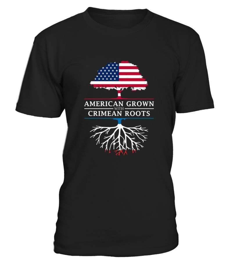 American Grown With Crimean Roots Tshirt  Crimea Shirt