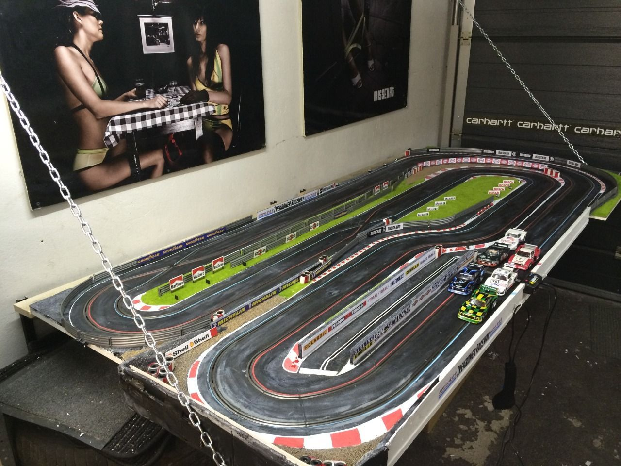 All About My Garage Slot Car Track And The Cars That Race It The Track Build The Cars Links Slot Cars Slot Car Tracks Slot Car Racing