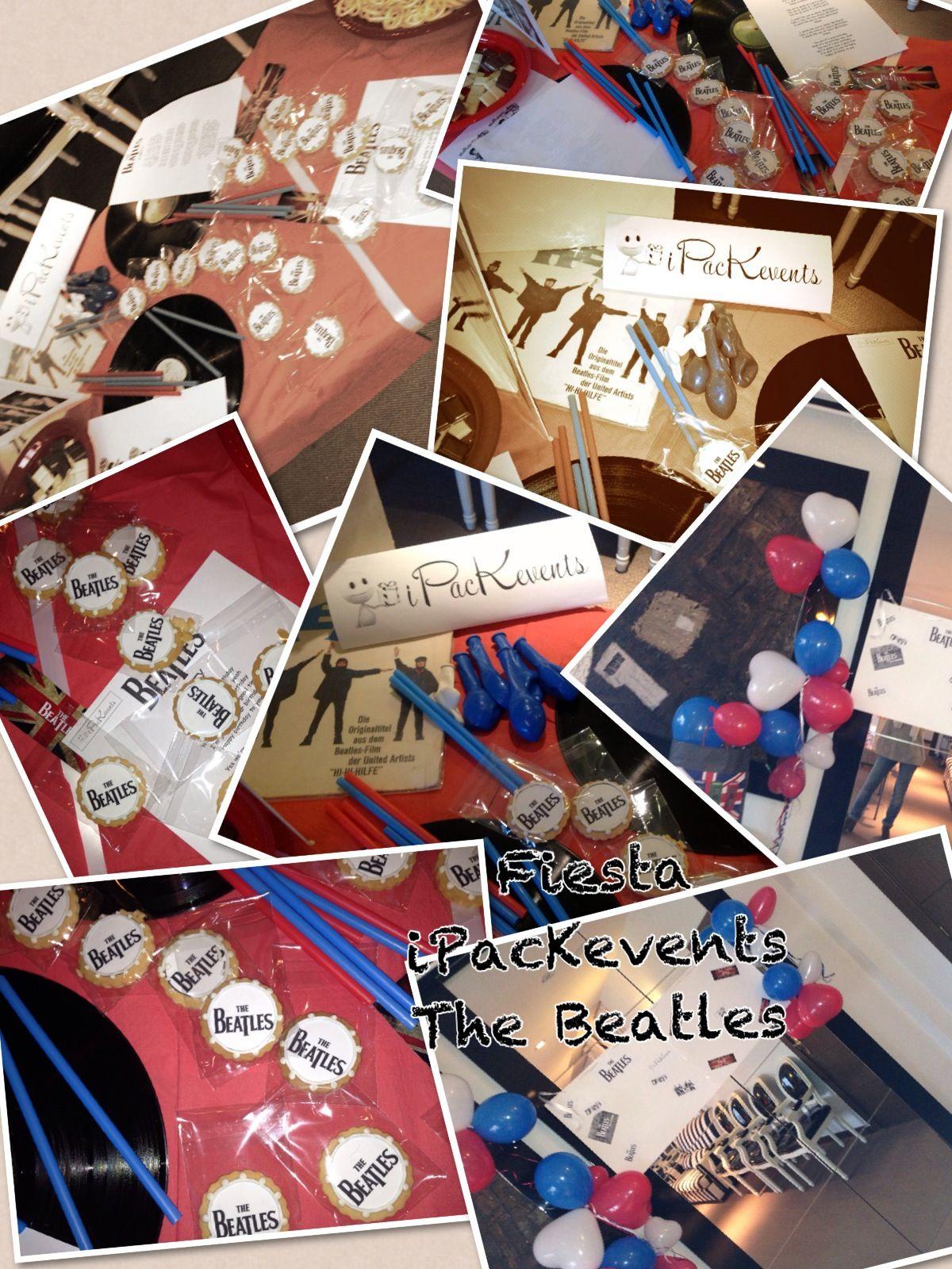 Mesa temática The Beatles