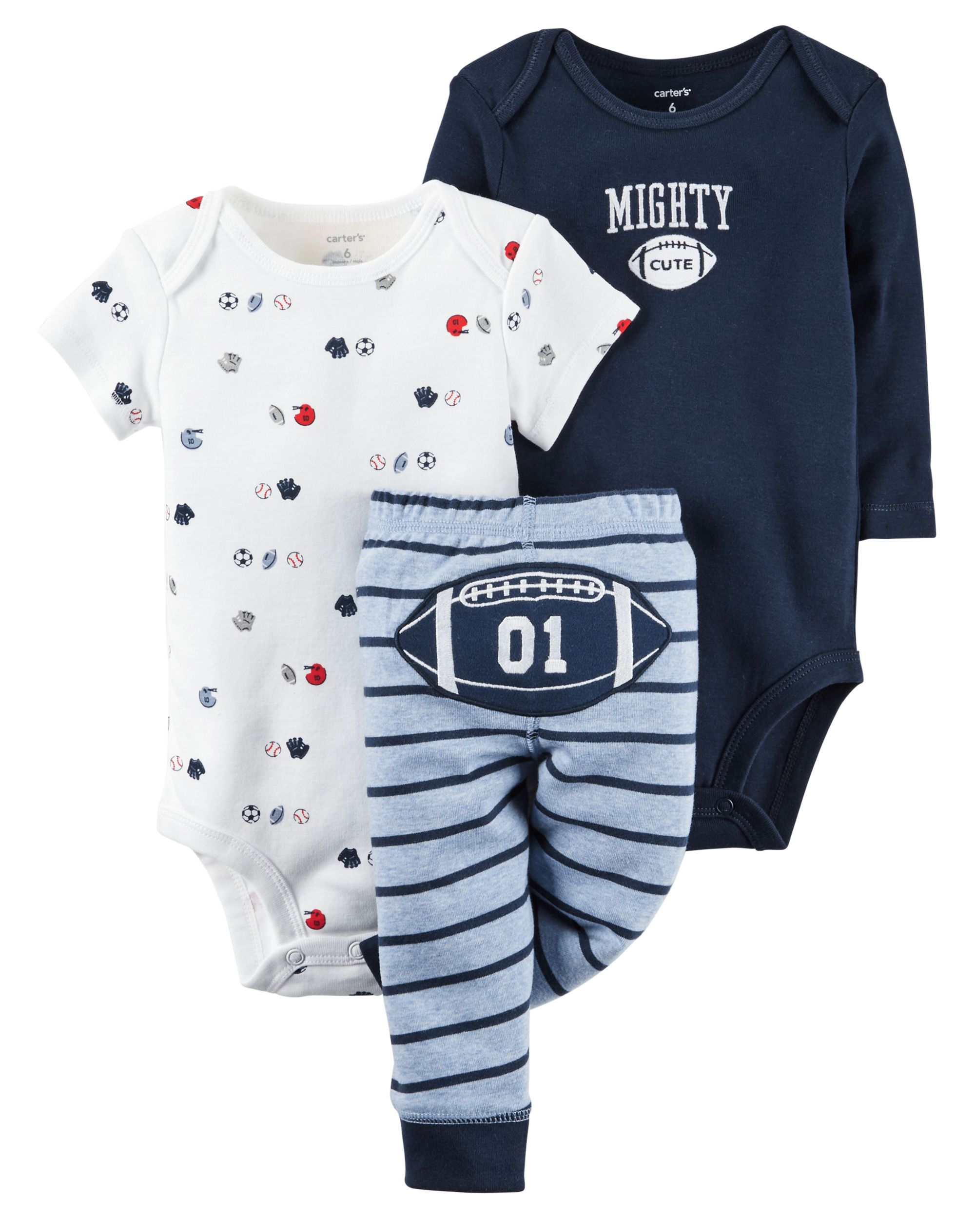 3 Piece Little Character Set Carters Com Baby Girl Clothes Newborn Outfits Baby Boy Clothing Sets